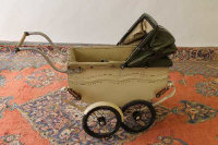 An early twentieth century child's pram.