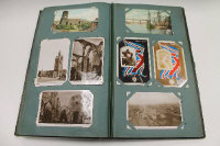 An early twentieth century album of postcards.