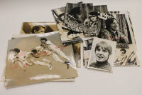 The Monkees - A collection of eleven signed monochrome photographs, together with two other later photographs. (13)