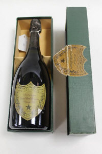 One bottle of Dom Perignon Vintage 1983 champagne, in original case.