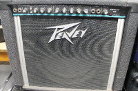 A Peavey Express 112 amplifier.