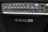 A Line 6 Low Down LD 300 Pro amplifier.