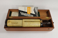 A W.F.Stanley & Co. Fuller Calculator, in a mahogany case.