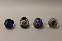 Four Caithness Glass paperweights - Destination Deimos, Pentecast, Joseph and Caprice, all boxed. (4)