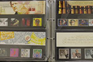 A collection of first day covers contained in four large albums. (4)