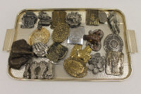 A Dixie Gun Works buckle, together with nineteen other vintage belt buckles. (20)