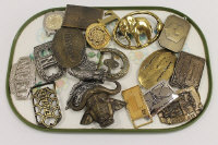 A Craigdon buckle, together with nineteen other vintage belt buckles. (20)