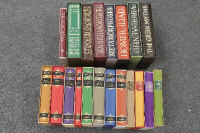 The Folio Society (Publisher) : Homer's Iliad, together with nineteen further volumes. (20)
