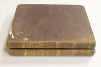 Samuel Lewis : A Topographical Dictionary of Wales, third edition, in two volumes, cloth bound. (2)