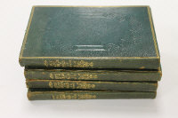 Lewis' Map of England and Wales, in four fully leather bound volumes. (4)