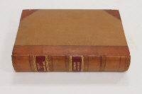 W. Dickinson : A Glossary of the Words and Phrases Pertaining to the Dialect of Cumberland, quarter bound in leather.