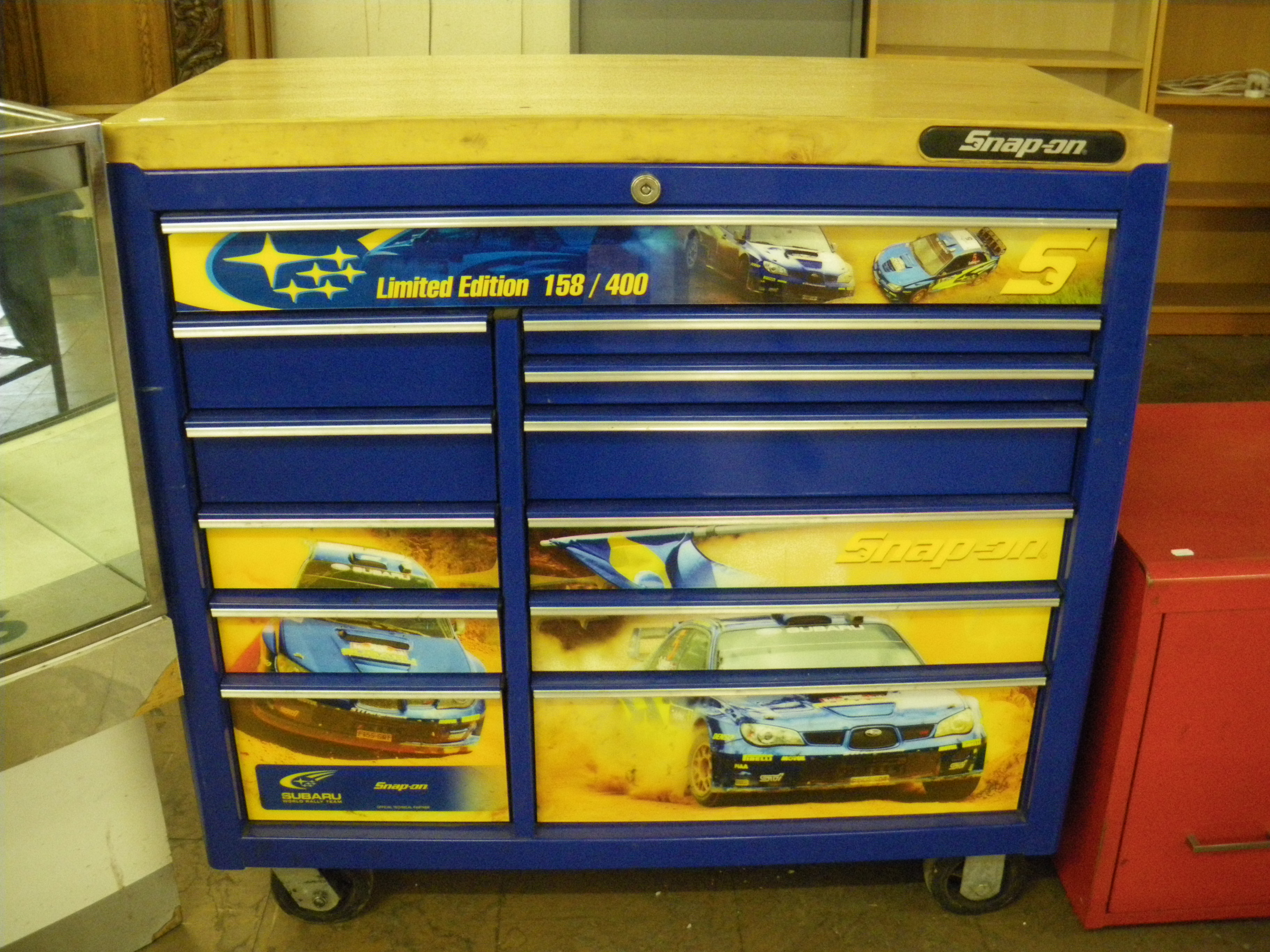 Tuesday August 13th At 1pm Snap On Tool Chests And Tools
