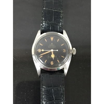 A Gentleman's Rolex Explorer wrist watch, model 6610, dated 1957