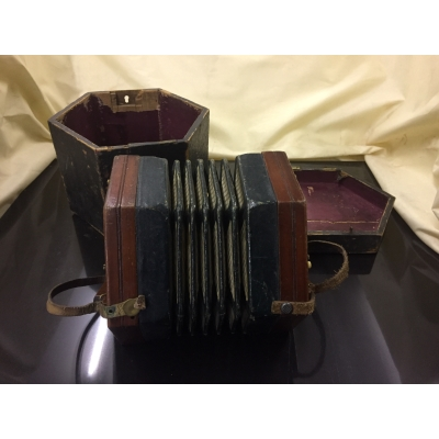 A concertina by Lachenal & Company of London
