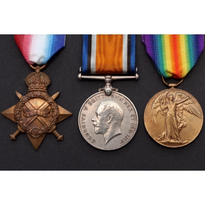 A WWI medal group