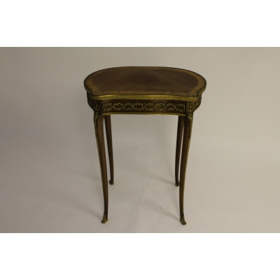 A Fine 19th Century French Kingwood and Ormolu Mounted Occasional Table