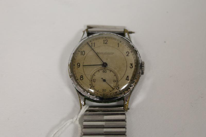 A Vintage Jaeger Le Coultre Wrist Watch