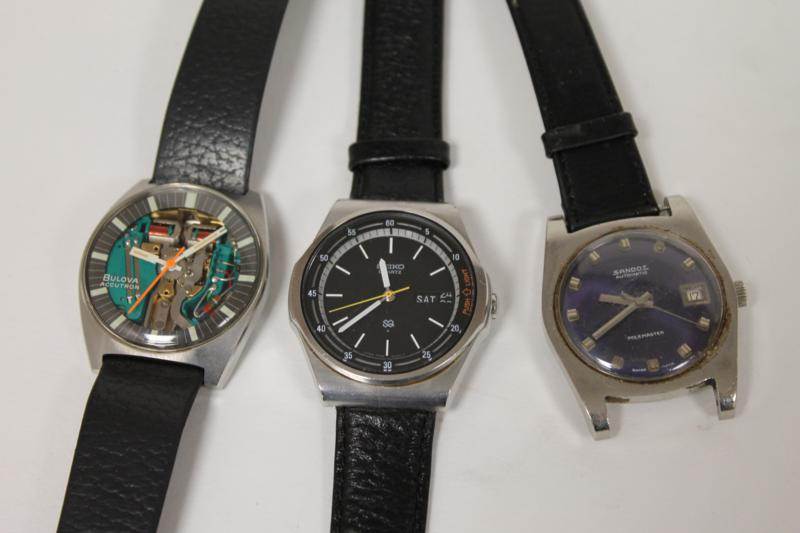Three Gents Wrist Watches