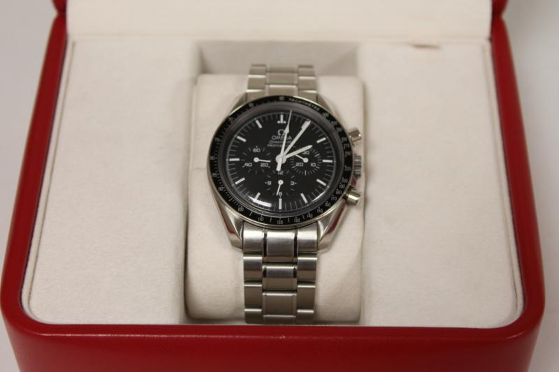 A Gents Stainless Steel Omega Wrist Watch